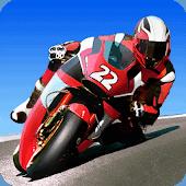 icono Carreras Reales en Moto 3D