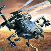 icono Ataque por helicóptero 3D