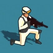 icono Tiroteo de marines 3D