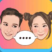 icono MojiPop - Teclado y Cámara GIF personalizada
