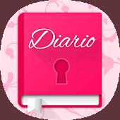 icono Diario íntimo con contraseña