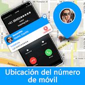 icono Ubicación del número móvil - Localizador de llamad