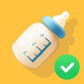 icono Diario del bebé. Registro de lactancia materna 👶